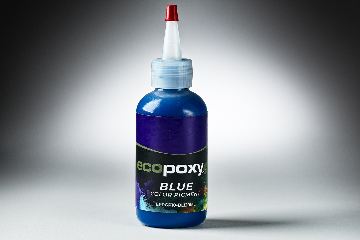 570024 #EPPGP10 BL120ml EcopoxyColorPigment Blue 120ml 6422
