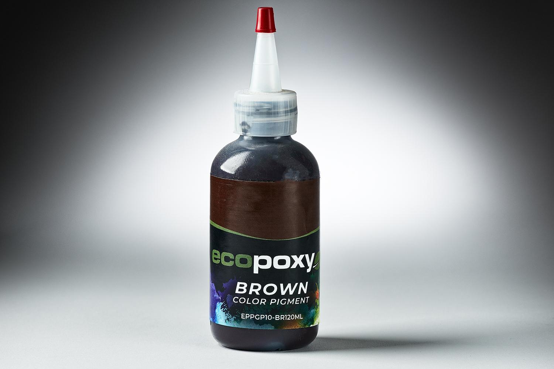 570025 #EPPGP10 BR120ml EcopoxyColorPigment Brown 120ml 6424