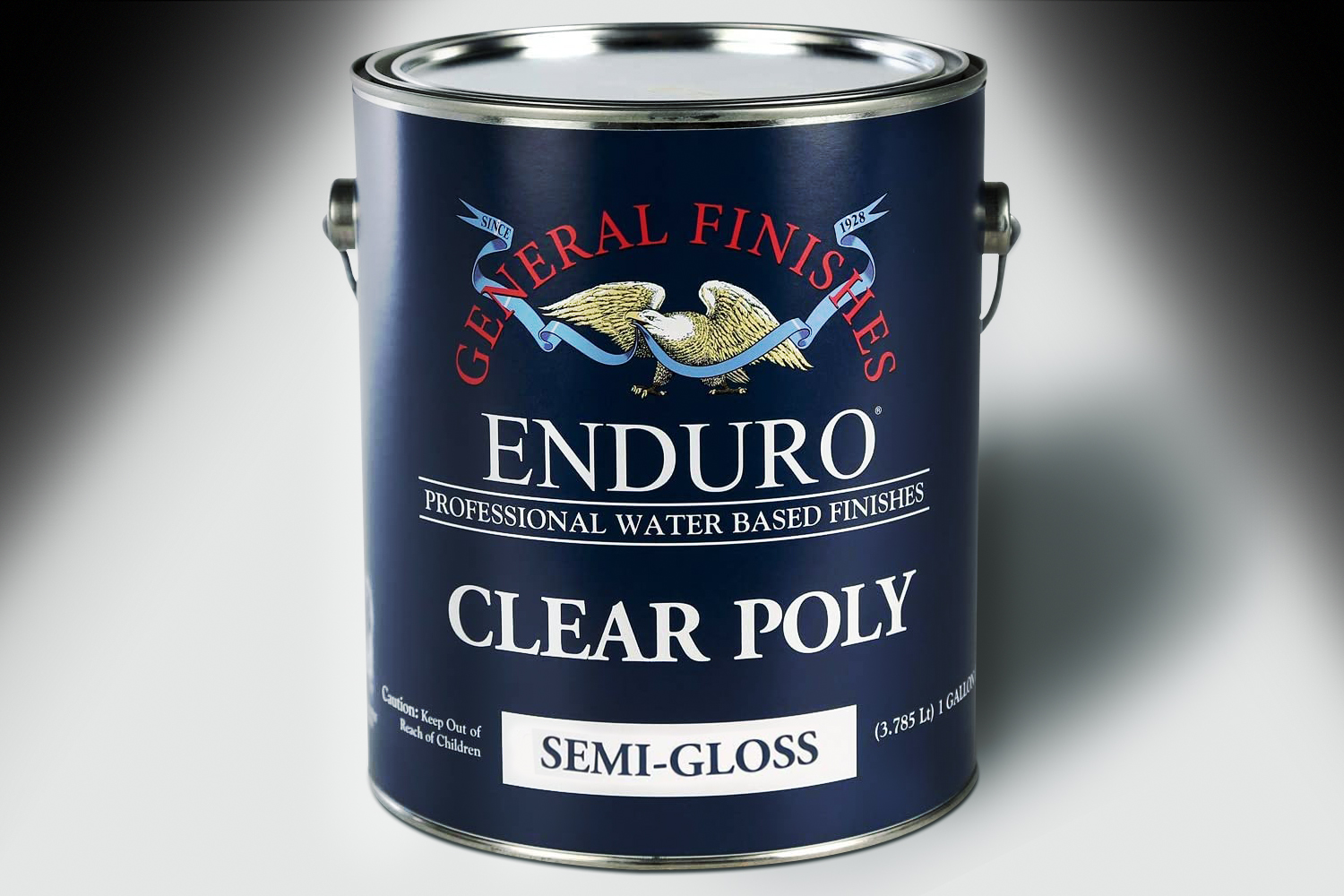 General Finishes Enduro Clear Poly Semi-Gloss Gallon