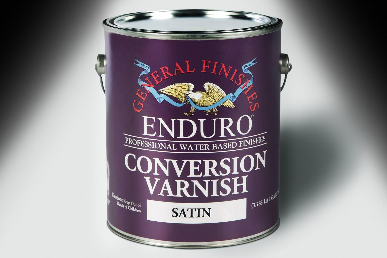 General Finishes Enduro Conversion Varnish Satin Gallon