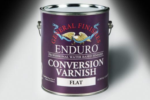 Varnish, General Finishes, Enduro Conversion Varnish, Flat,
