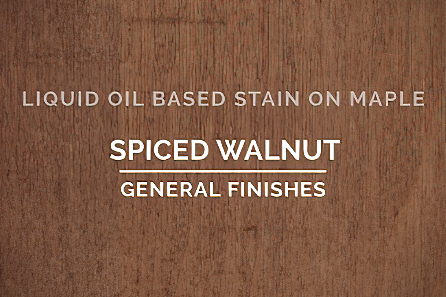 General Finishes Oil Based Penetrating Wood Stain Spiced Walnut Quart