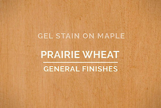 General Finishes Prairie Wheat Gel Stain Oil Based Pint