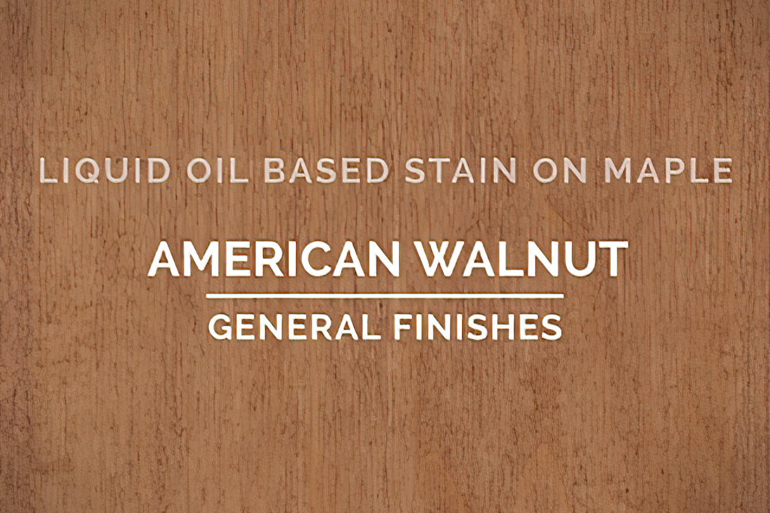 General Finishes American Walnut Oil Based Penetrating Wood Stain Quart