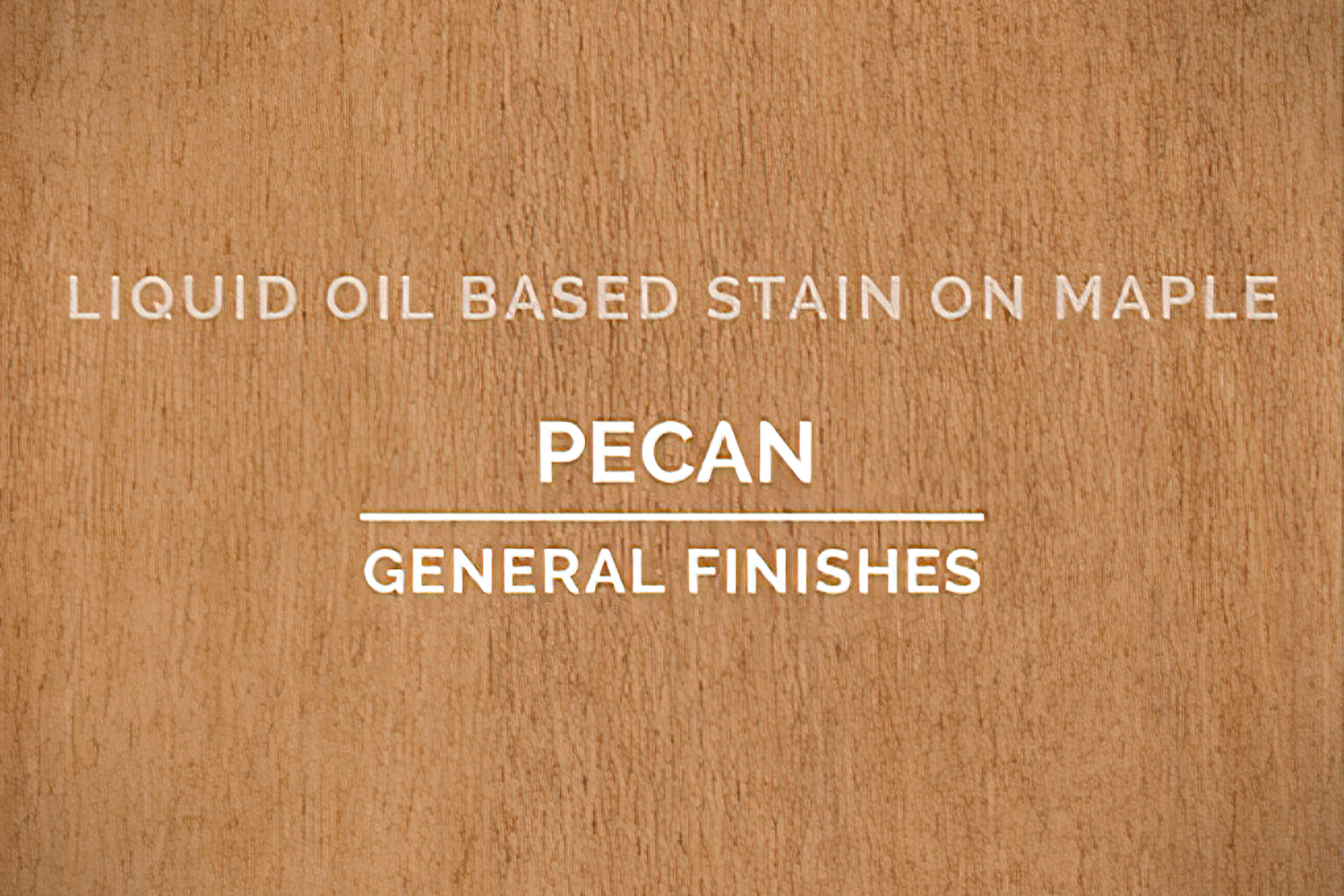 General Finishes Pecan Oil Based Penetrating Wood Stain Quart