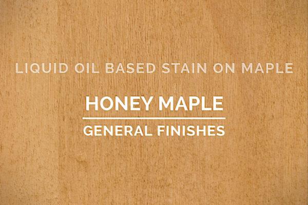 General Finishes Honey Maple Oil Based Penetrating Wood Stain Quart