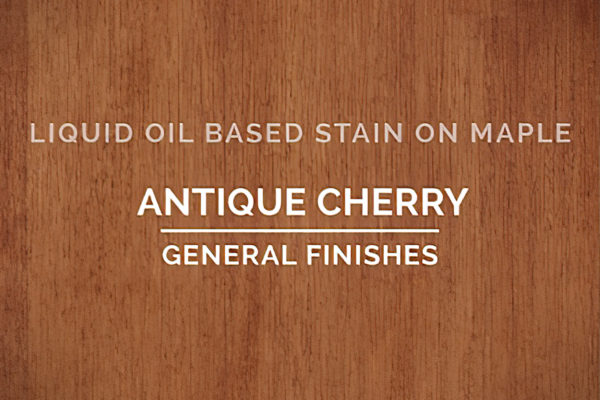 518266 General Finishes Oil Based Penetrating Wood Stain Antique Cherry Quart