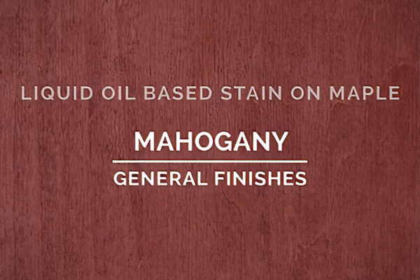 General Finishes Mahogany Oil Based Penetrating Wood Stain Quart