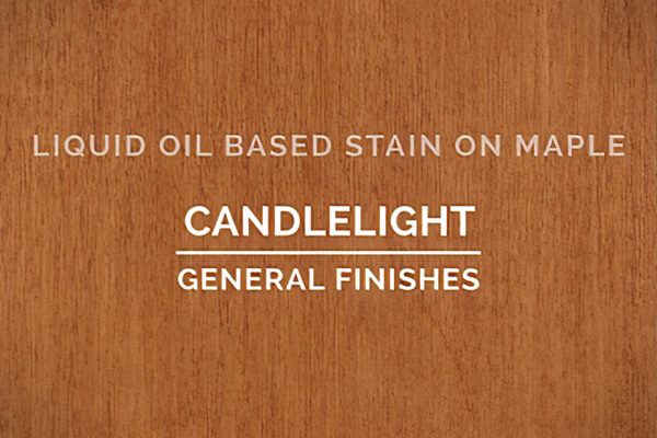 General Finishes Candlelight Oil Based Penetrating Wood Stain Quart