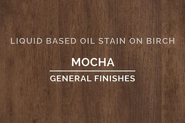 General Finishes Mocha Oil Based Penetrating Wood Stain Quart