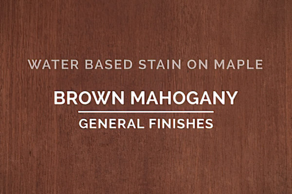General Finishes Brown Mahogany Stain Water Based