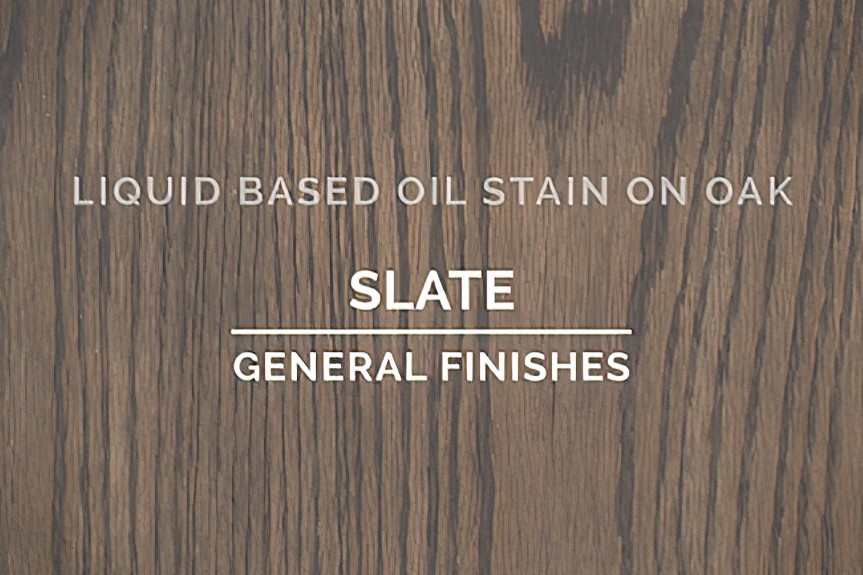 General Finishes Slate Oil Based Penetrating Wood Stain Quart