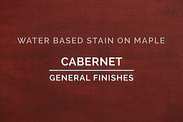 General Finishes Cabernet Stain Water Based