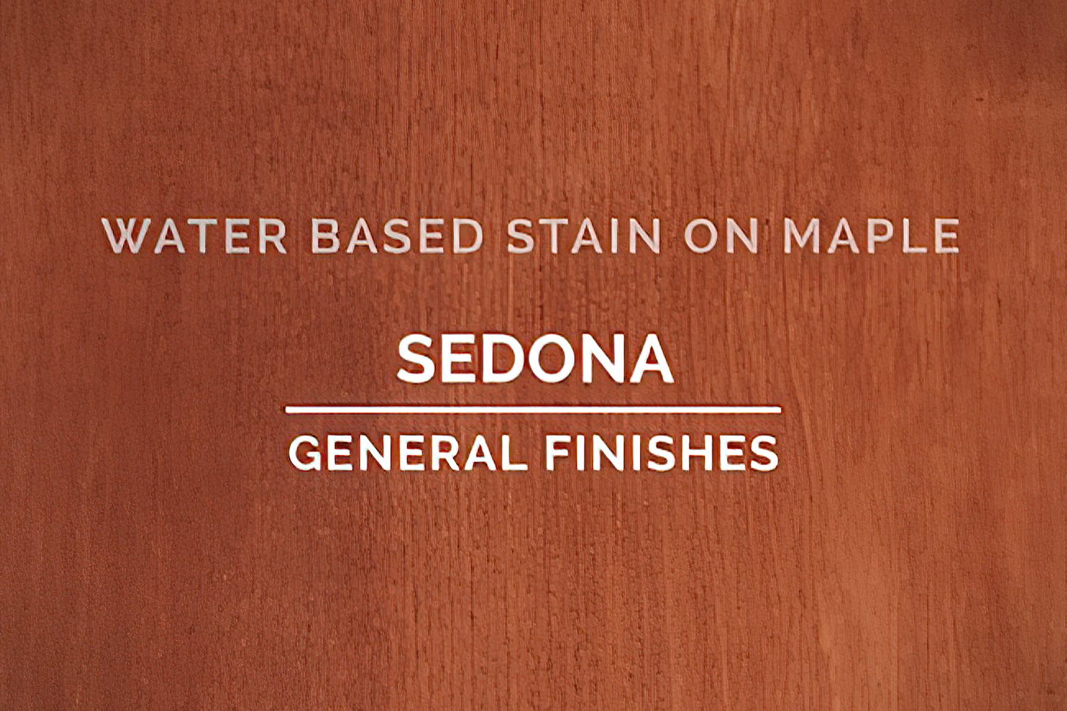 General Finishes Sedona Stain Water Based