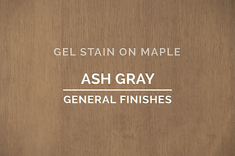 General Finishes Ash Gray Gel Stain Oil Based Quart