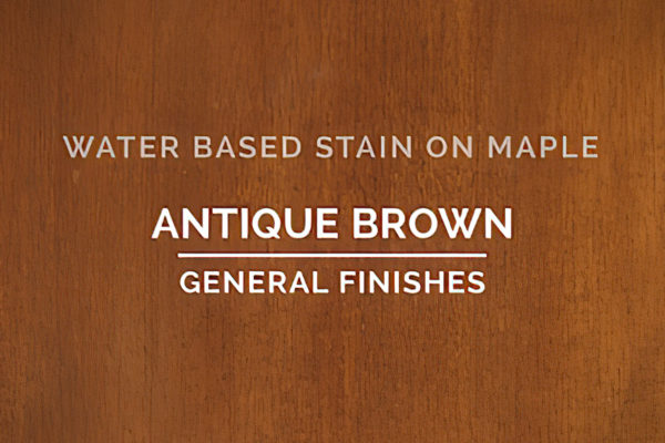 General Finishes Antique Brown Stain Water Based