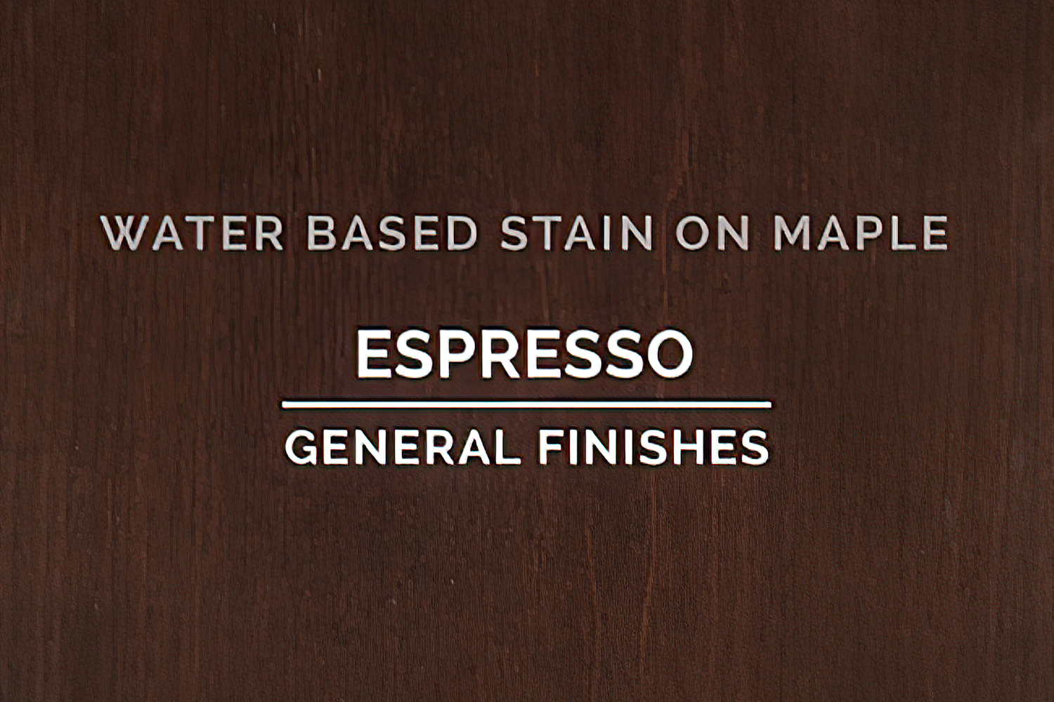 General Finishes Espresso Stain Water Based