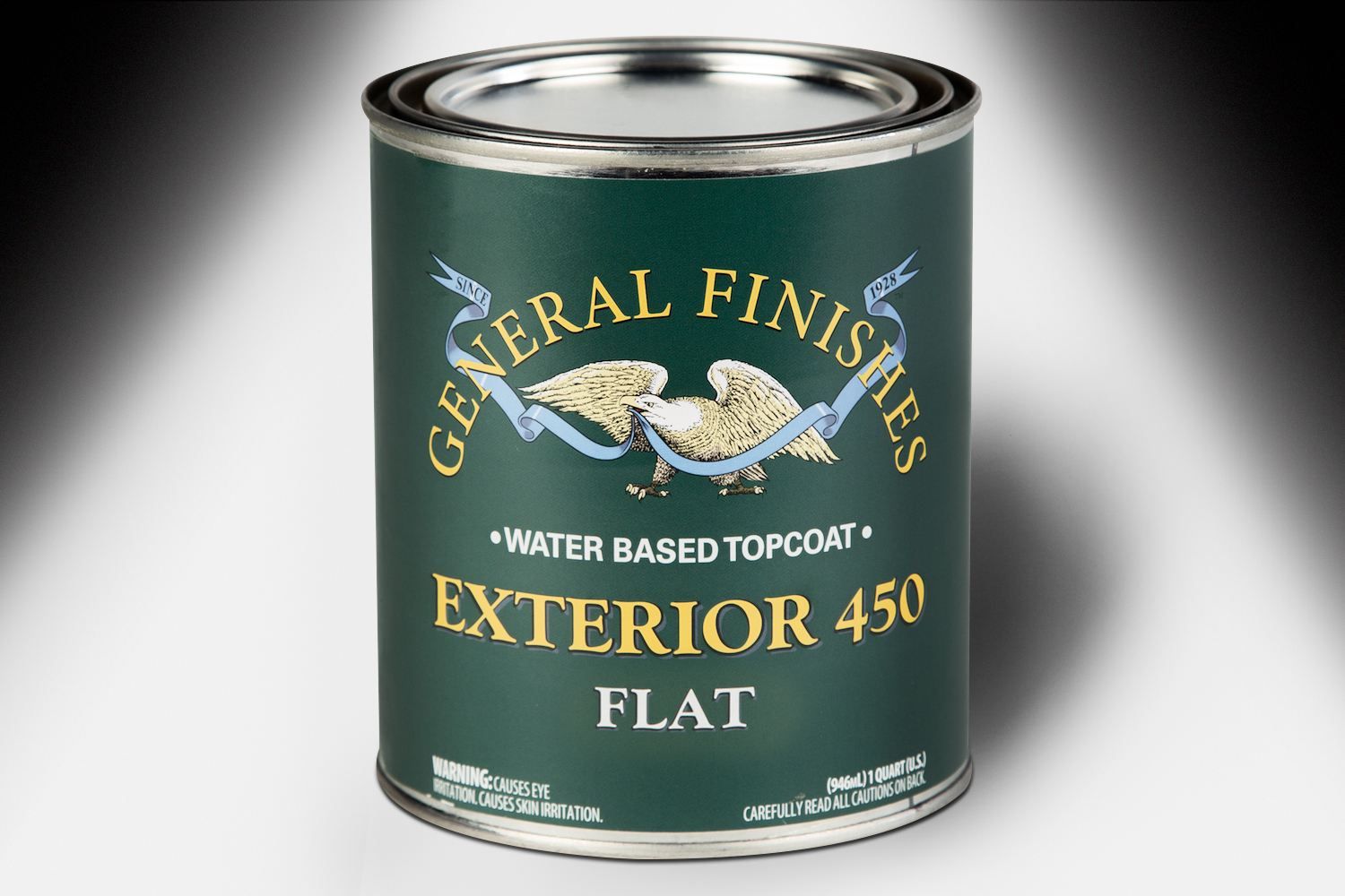 General Finishes Exterior 450 Topcoat Flat Water Based