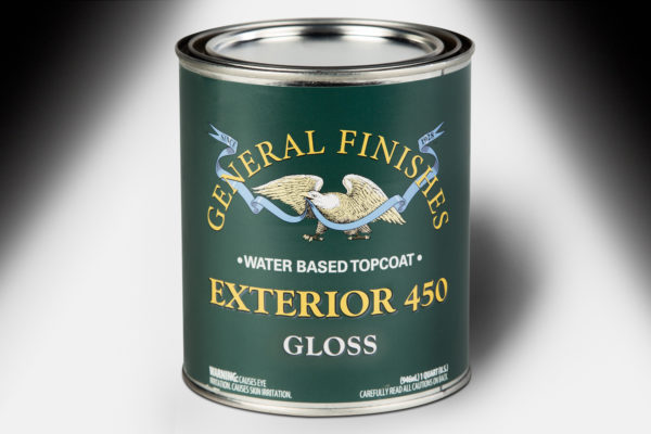 General Finishes Exterior 450 Topcoat Gloss Water Based Quart