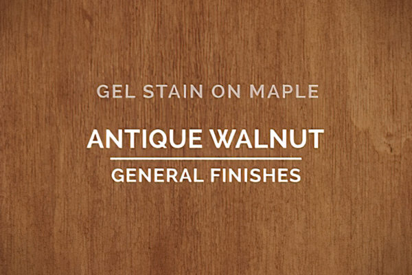 General Finishes Antique Walnut Gel Stain Oil Based