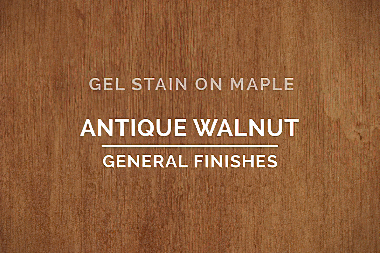 Color Chip Gel Stain Antique Walnut On Maple General Finishes Copy