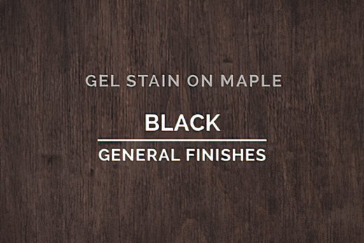 Stains. Gel Based Stains, Black, General Finishes,