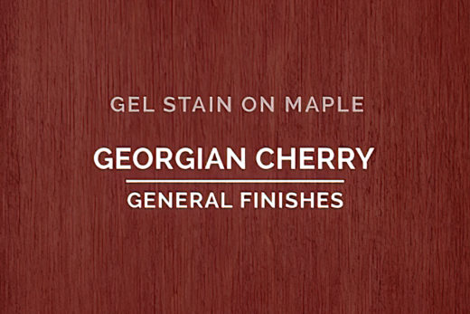 Stains. Gel Based Stains, Georgian Cherry, General Finishes,