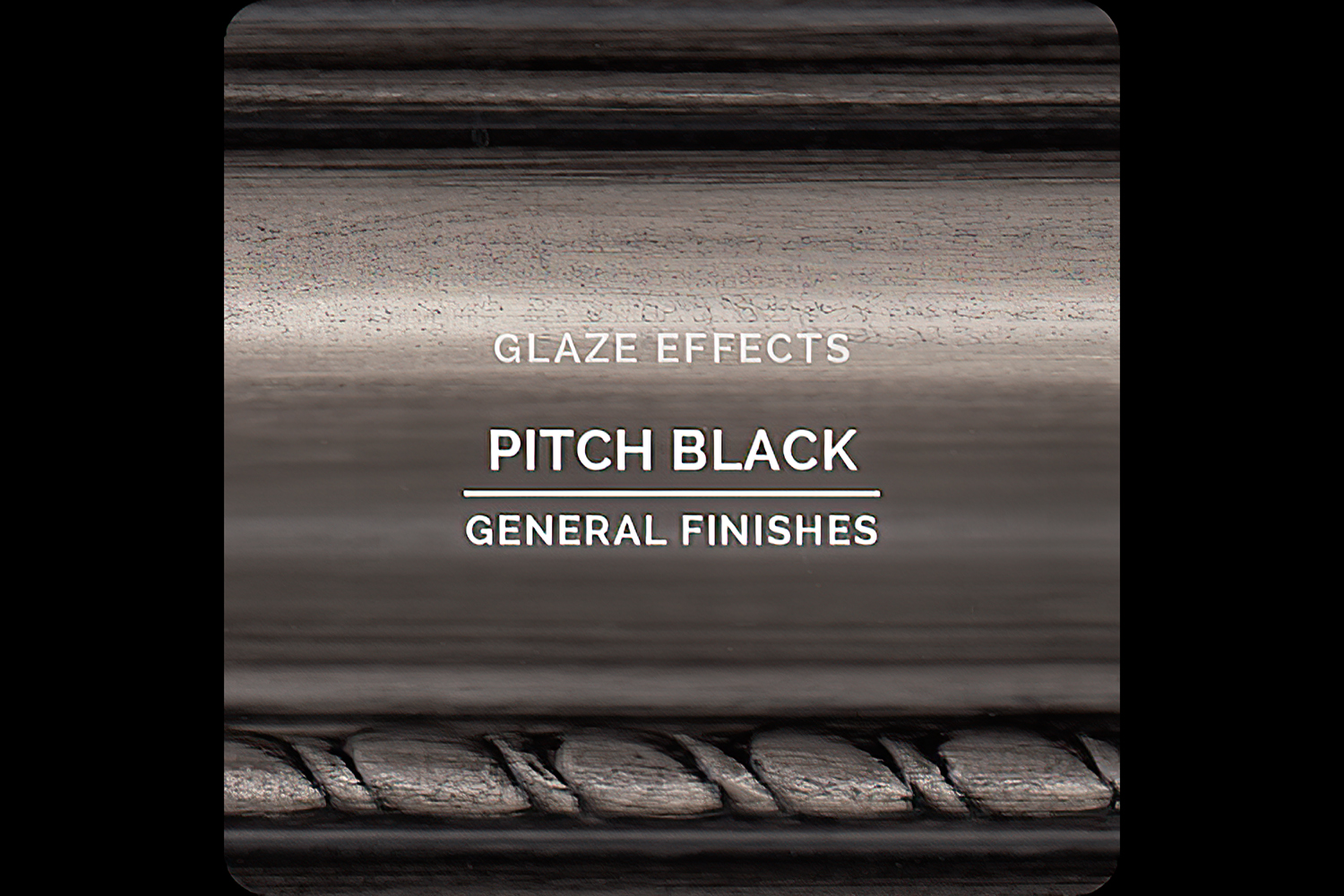 General Finishes Glaze Effects Pitch Black Water Based