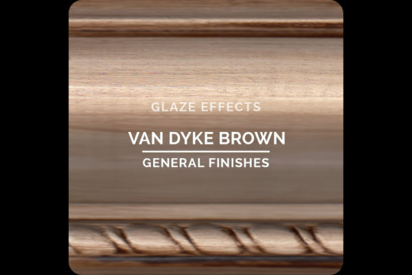 General Finishes Glaze Effects Van Dyke Brown Water Based