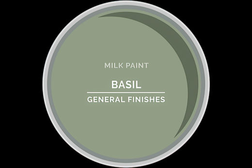 General Finishes Milk Paint Basil Based