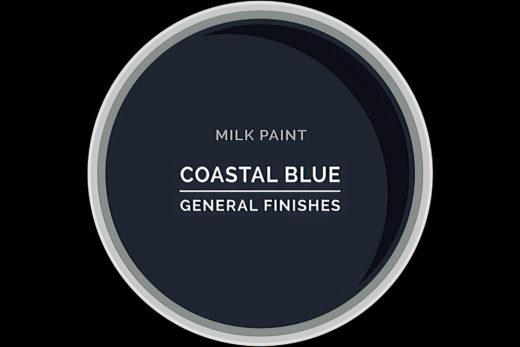 General Finishes Milk Paint Coastal Blue Water Based
