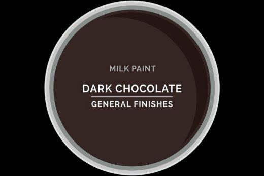 General Finishes Milk Paint Dark Chocolate Water Based