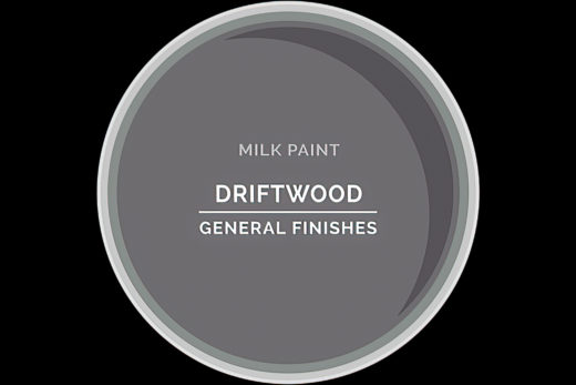 General Finishes Milk Paint Driftwood Water Based