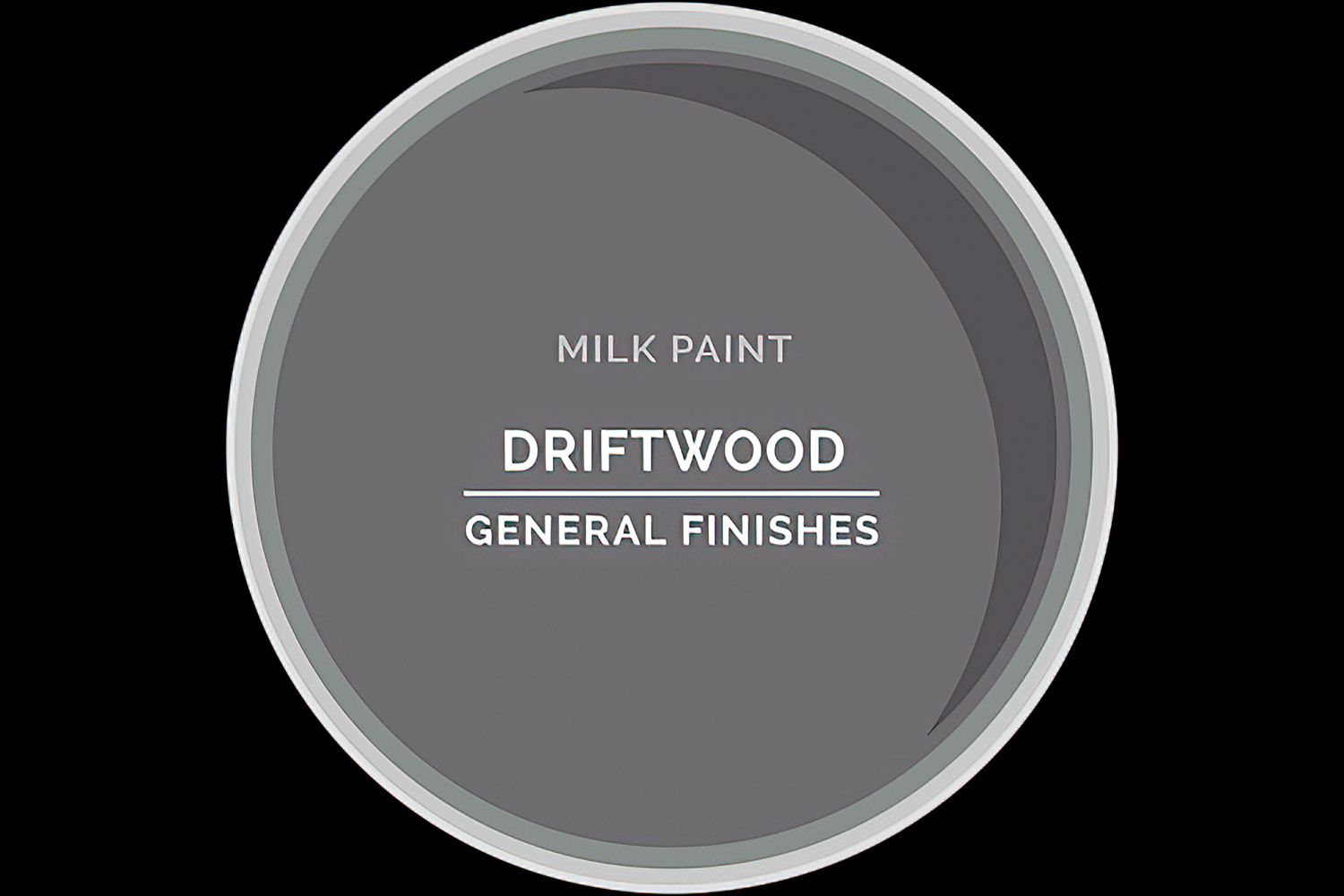 Color Chip Milk Paint DRIFTWOOD General Finishes Copy