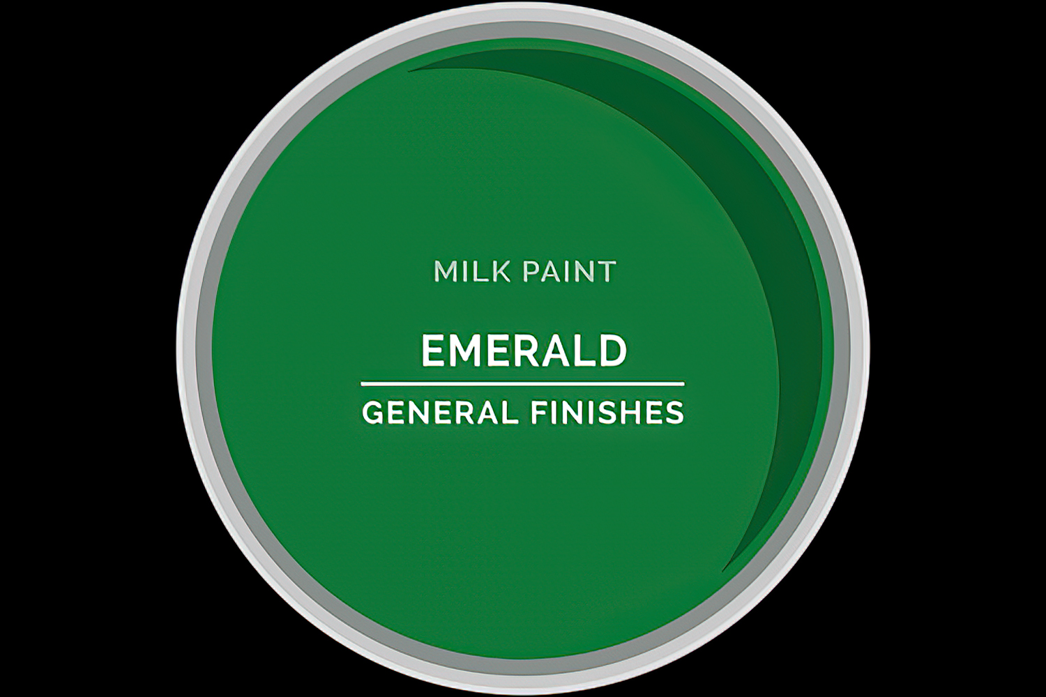 Color Chip Milk Paint EMERALD General Finishes Copy