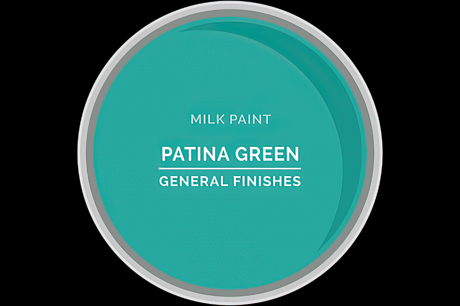 Color Chip Milk Paint PATINA GREEN General Finishes Copy
