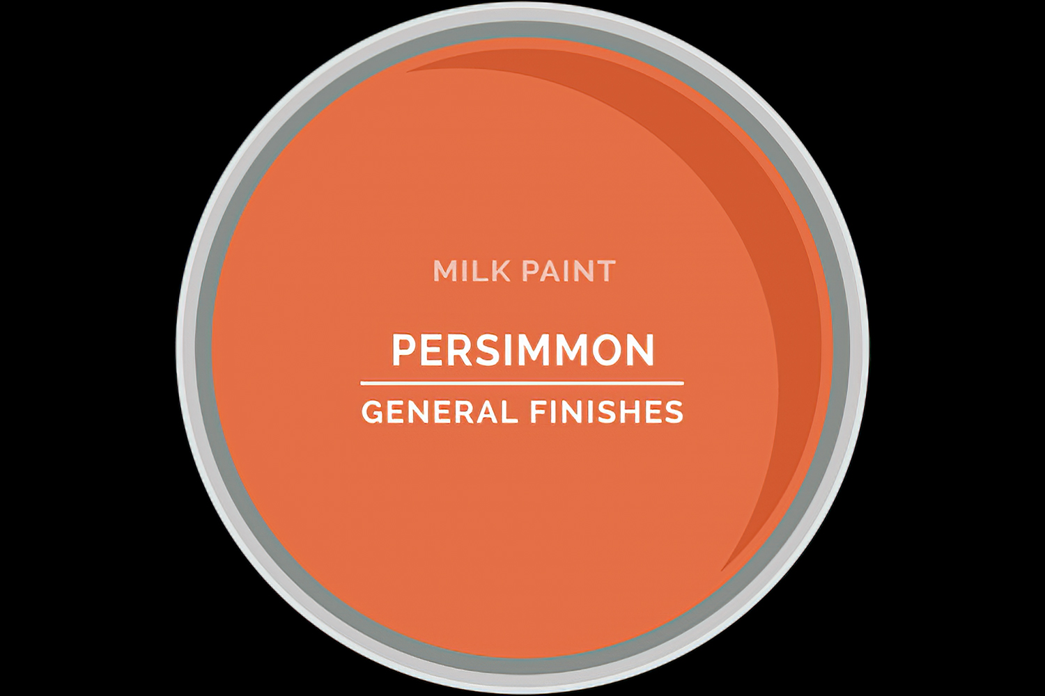 Color Chip Milk Paint PERSIMMON General Finishes Copy