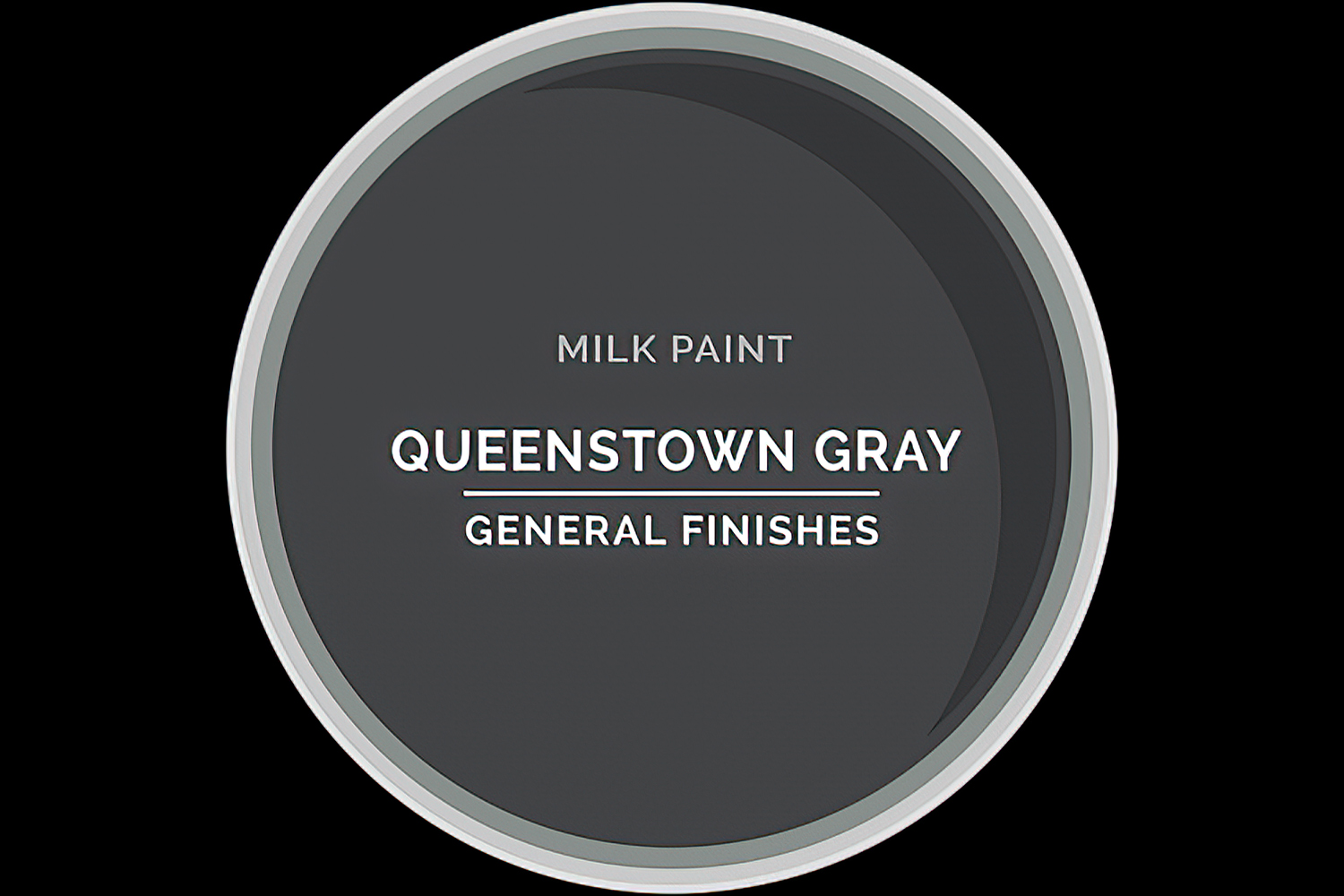 Color Chip Milk Paint QUEENSTOWN GRAY General Finishes Copy