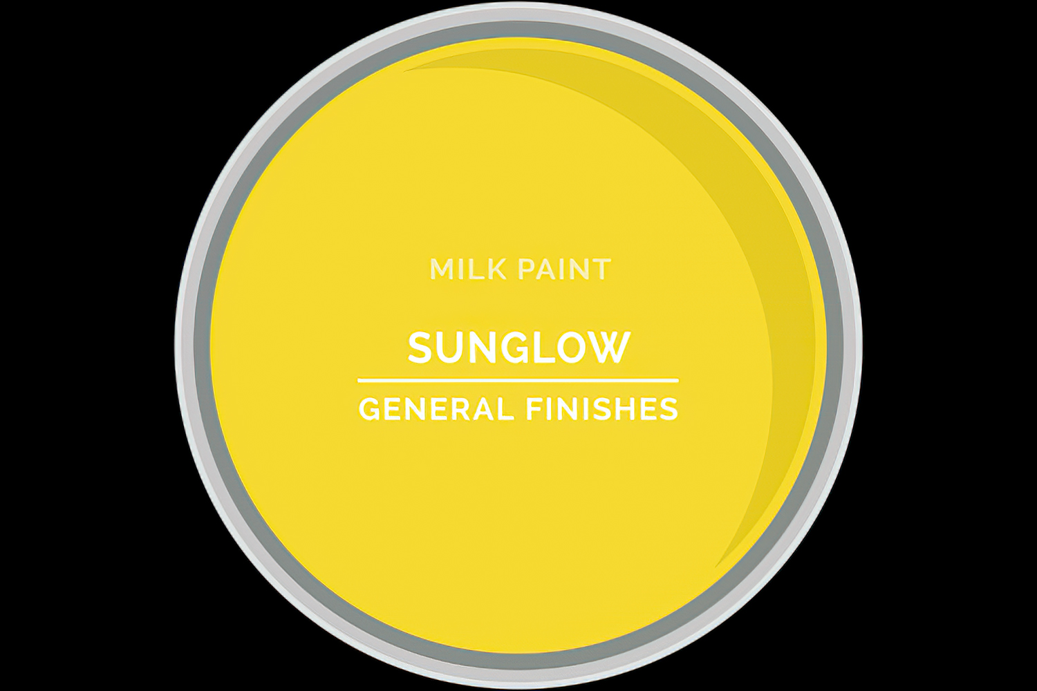 General Finishes Milk Paint Sunglow Water Based