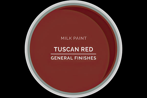 General Finishes Milk Paint Tuscan Red Water Based