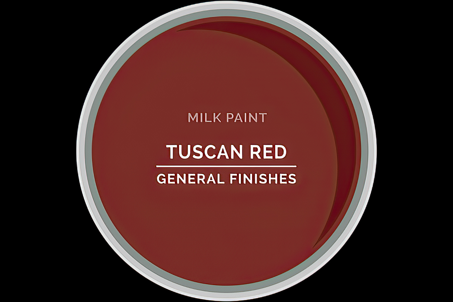 Color Chip Milk Paint TUSCAN RED General Finishes Copy