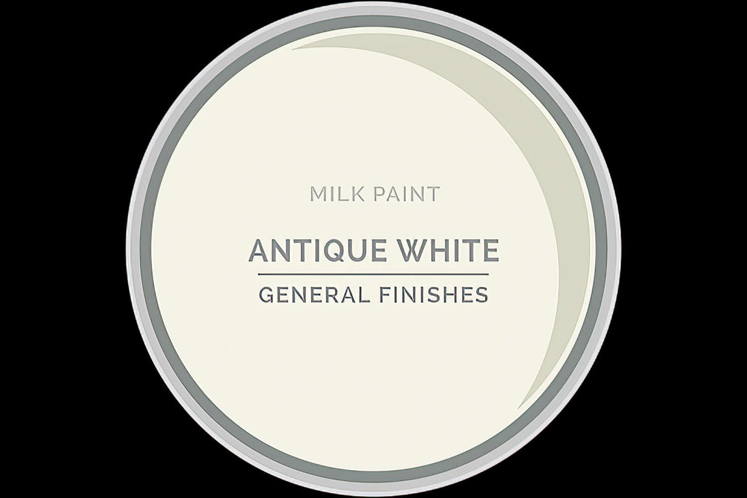 General Finishes Milk Paint Antique White Water Based