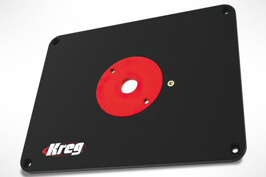 Kreg Precision Router Table Insert Plate - Undrilled PRS4038