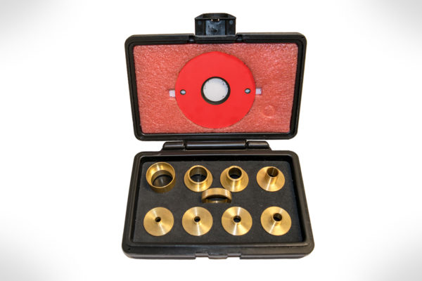 SawStop 9 pc Brass Precision Template Guide Set RT-TGS