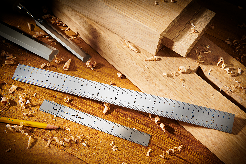 Woodsmith Store Fine Tools Steel Rulers