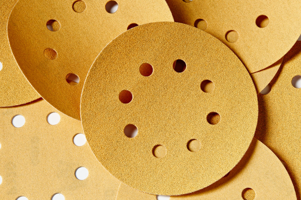 267999 3PK of Mirka Gold 5in HandL 100g 150g 220g