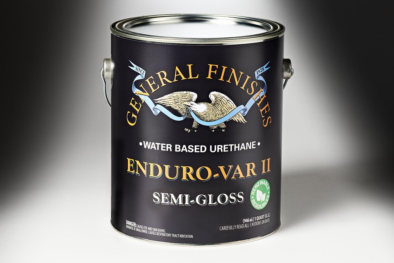 518144 GeneralFinishesEnduro VarII WaterBaseUrethane SemiGloss Qt 9133 Copy