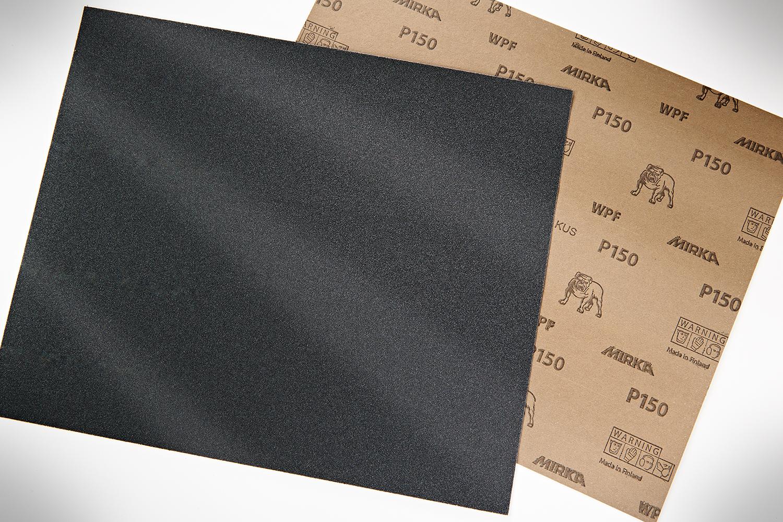 Sandpaper, Sandpaper Sheets, Mirka, Wet Sanding, Finishing Sheet, 150
