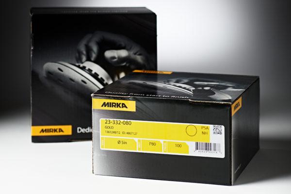 "Mirka Gold 5"" PSA Disc 100 Pack 80"