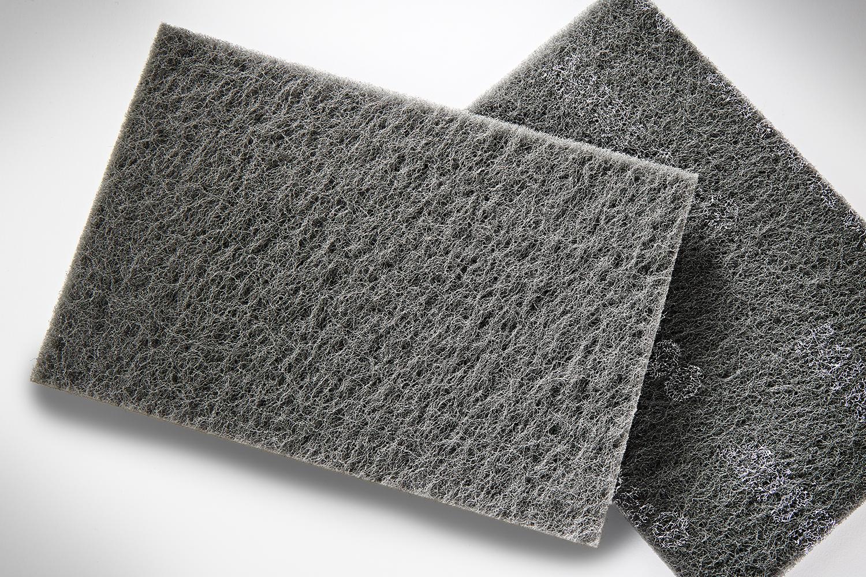 Mirka Mirlon 6 In. X 9 In. Ultra Fine Scuff Pad (Gray) 18-111-448